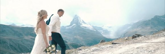 Hochzeitsvideo Schweiz – Jessica & Bastian beim Matterhorn